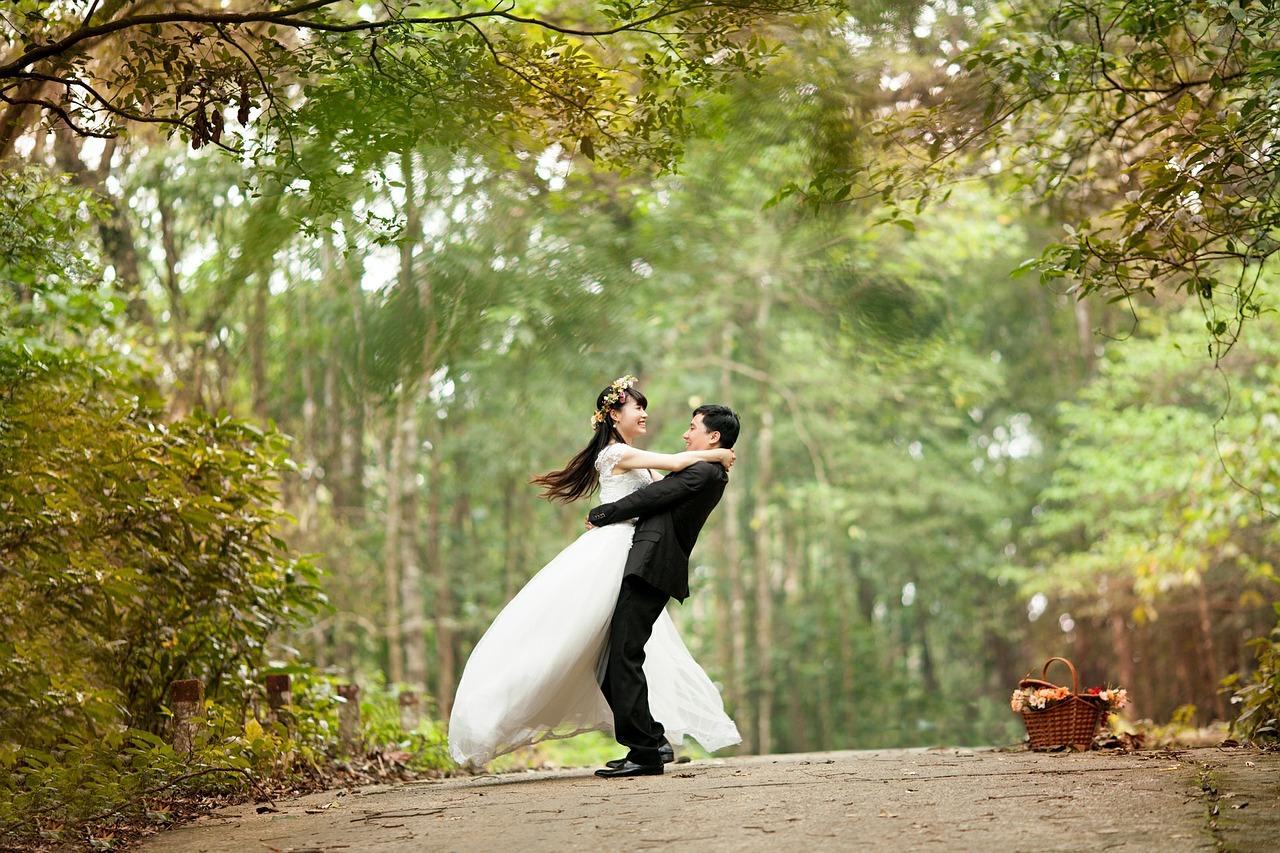 Sesja zdjęciowa podczas wesela